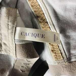 Cacique Intimates & Sleepwear - Cacique Lane Bryant Plus Size 48DDD Bra Polka Dot